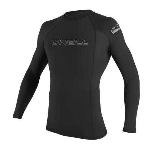 O'Neill---UV-Shirt-für-Herren---Langarm---Schwarz