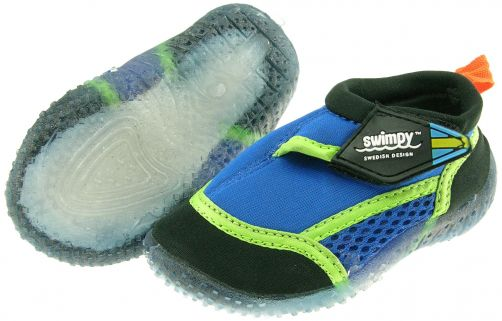 Swimpy---UV-Badeschuhe-in-blau