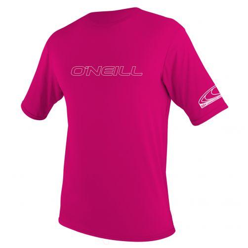 O'Neill---Kinder-UV-Shirt---Slim-Fit-kurzärmlig---Pink