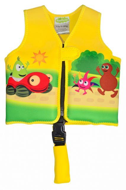 Swimpy---Schwimmweste-für-Kleinkinder-1-3-Jahre---Babblarna---Gelb