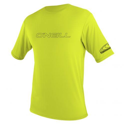 O'Neill---UV-Shirt-für-Herren---Kurzarm---Lime