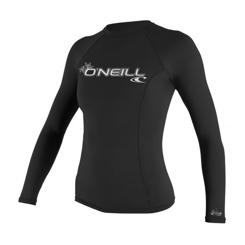 O'Neill---Damen-UV-Shirt---Performance-fit-langärmlig---Schwarz