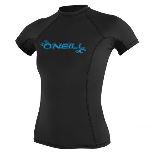 O'Neill---Damen-UV-Shirt---Performance-fit-kurzärmlig---Schwarz