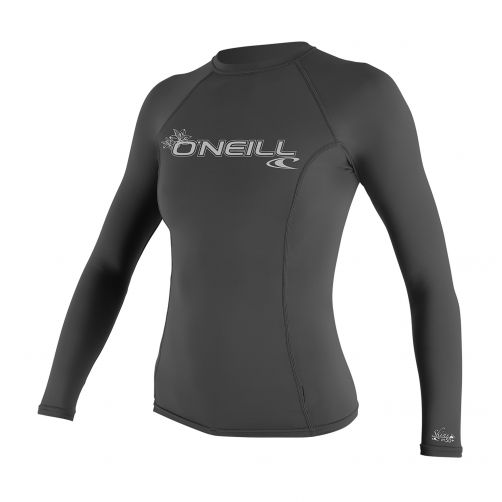 O'Neill---Frauen-UV-Shirt---Performance-fit-langärmlig---Graphit