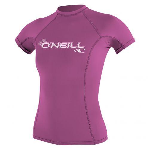 O'Neill---Damen-UV-Shirt---Performance-fit-kurzärmlig---pink