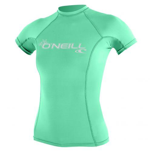 O'Neill---Damen-UV-Shirt---Performance-fit-kurzärmlig---Grün