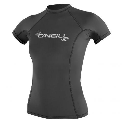 O'Neill---Damen-UV-Shirt---Performance-fit-kurzärmlig---Grau