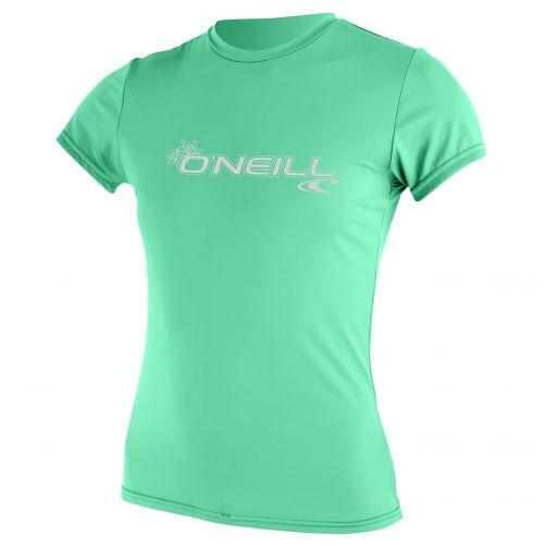 O'Neill---UV-Shirt-für-Damen---Slim-Fit-kurzärmlig---Seaglass