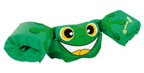 Puddle-Jumpers---Größenverstellbare-Schwimmflügel-Frosch---Grün