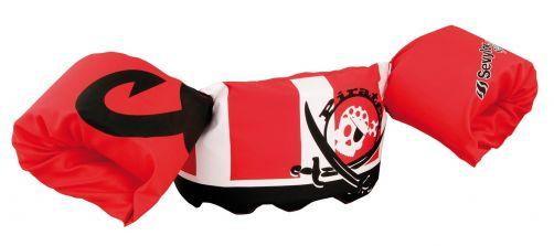 Puddle-Jumpers---Größenverstellbare-Schwimmflügel-Pirat---Rot/Weiß