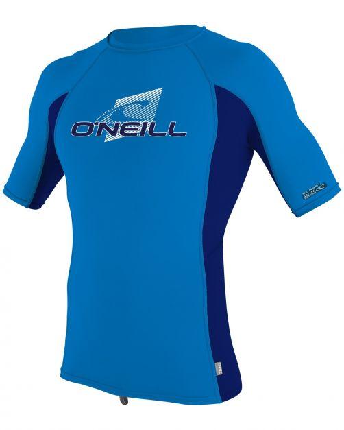 O'Neill---UV-Shirt-für-Kinder---kurzärmlig---Premium-Rash---Ozeanblau