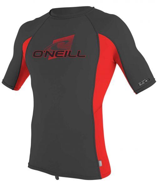 O'Neill---UV-Shirt-für-Kinder---kurzärmlig---Premium-Rash---Ravengrau