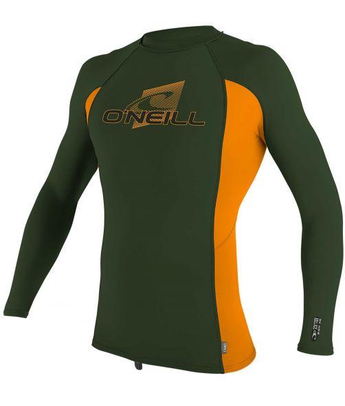 O'Neill---UV-Shirt-für-Kinder---langärmlig---Premium-Rash---Olivgrün