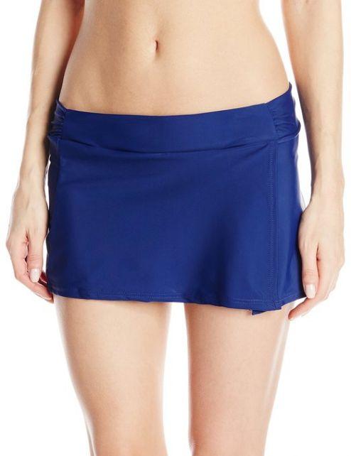 Cabana-Life---UV-Schutz-Schwimmrock-für-Damen---Blau