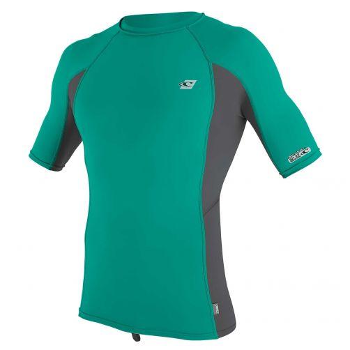 O'Neill---UV-Shirt-für-Herren---kurzärmlig---Premium-Rash---Baltischgrün