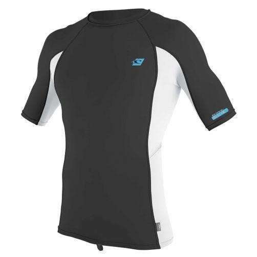 O'Neill---UV-Shirt-für-Herren---kurzärmlig---Premium-Rash---Ravengrau