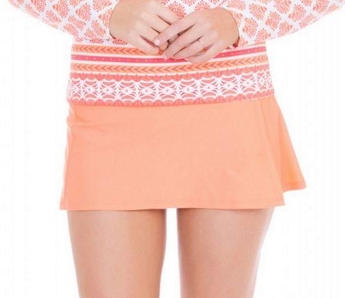 Cabana-Life---UV-Schutz-Schwimmrock-für-Damen---Orange