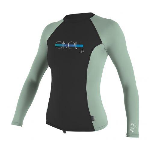 O'Neill---UV-T-Shirt-für-Mädchen---Langarm---Midnight-/-Mint