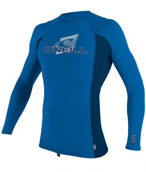 O'Neill---UV-Shirt-für-Kinder---langärmlig---Premium-Rash---Ozeanblau