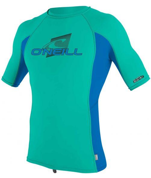 O'Neill---UV-Shirt-für-Kinder---kurzärmlig---Premium-Rash---Baltischgrün