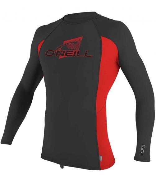 O'Neill---UV-Shirt-für-Kinder---langärmlig---Premium-Rash---Ravengrau