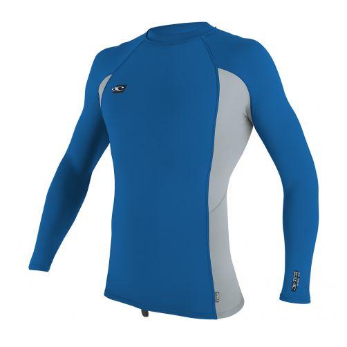 O'Neill---Männer-Premium-UV-Shirt---Langarm---blau-grau