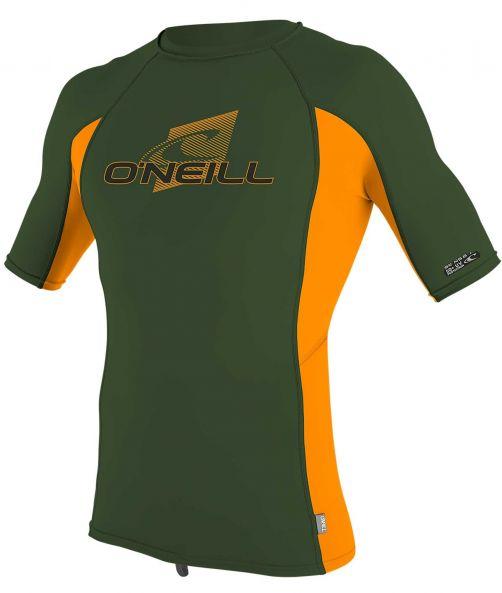O'Neill---UV-Shirt-für-Kinder---kurzärmlig---Premium-Rash---Olivgrün