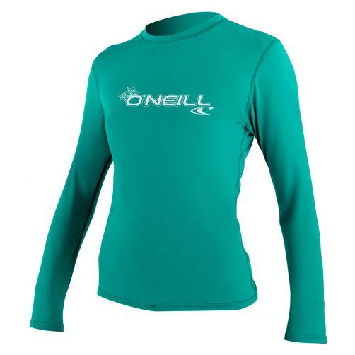 O'Neill---UV-Shirt-für-Damen---langärmlig---Basic-Sun---Aqua