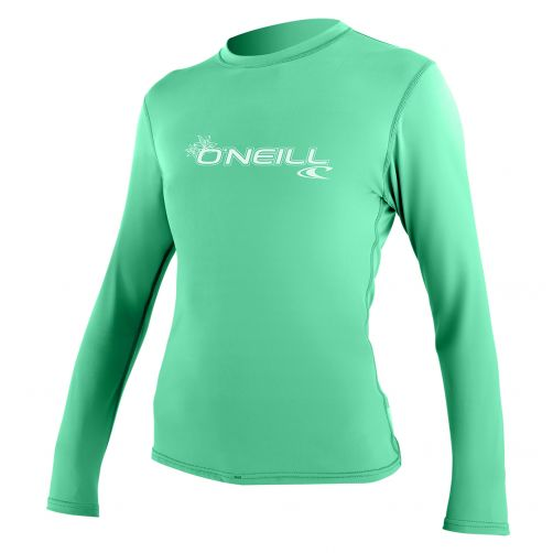 O'Neill---UV-Shirt-für-Damen---Slim-Fit-langärmlig---Seaglass