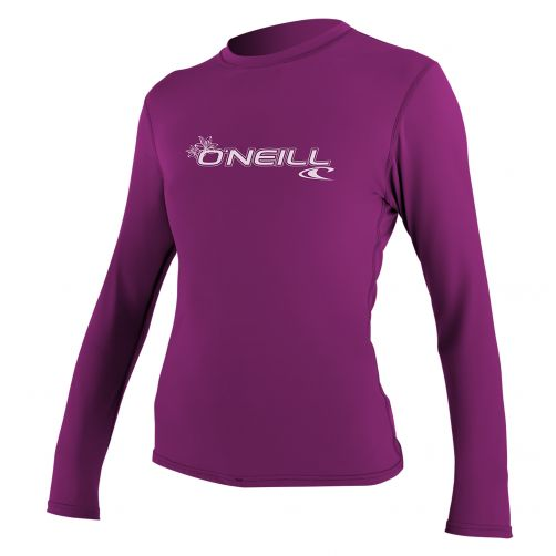 O'Neill---UV-Shirt-für-Damen---Slim-Fit-langärmlig---Lila