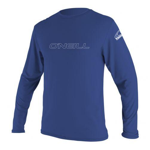 O'Neill---UV-Shirt-für-Herren---Langarm---Pazifikblau