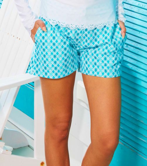 Cabana-Life---UPF50+-Coral-Seas---Microfiber-Shorts