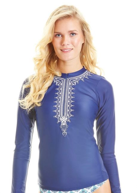 Cabana-Life---UPF50+-Essentials---Blau-Embroidered-Rashguard
