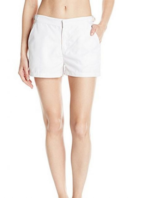 Cabana-Life---UV-Schutz-Microfaser-Shorts-für-Damen---Weiss