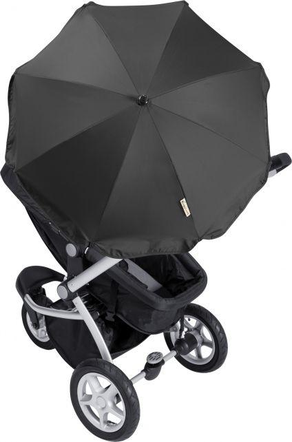 Playshoes---UV-Sonnenschirm-für-Kinderwagen---Schwarz