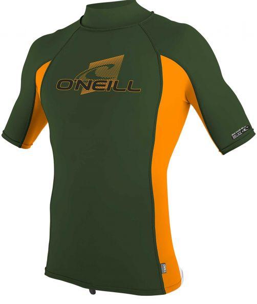 O'Neill---UV-Shirt-für-Kinder-mit-Rollenhalsausschnitt---Premium-Rash---Olivgrün