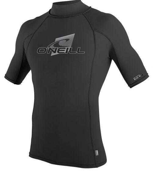 O'Neill---UV-Shirt-für-Herren-mit-Rollenhalsausschnitt---Premium-Rash---Schwarz