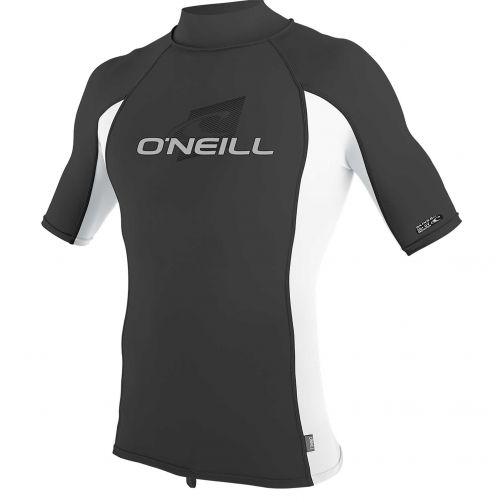 O'Neill---UV-Shirt-für-Herren-mit-Rollenhalsausschnitt---Premium-Rash---Ravengrau