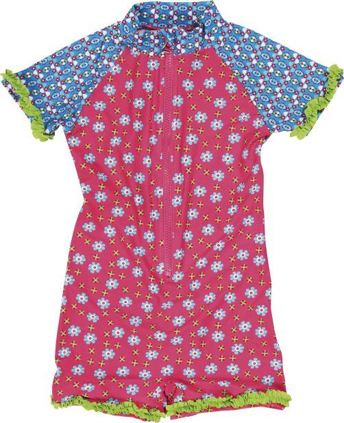 Playshoes---UV-Anzug-für-Kinder---kurzärmlig---Blum