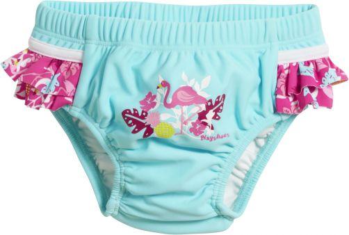 Playshoes---UV-Schwimmwindel-für-Mädchen---Flamingo---Türkis