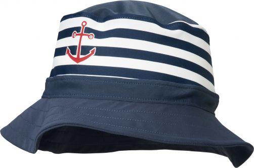 Playshoes---UV-Hut-für-Kinder---Maritim---blau-/-weiß