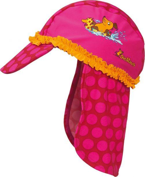 Playshoes---UV-Sonnenhut-für-Kinder---Rosa-Maus