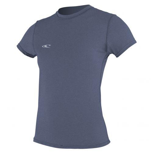 O'Neill---Hybrid-UV-Shirt-für-Damen---Slim-Fit-kurzärmlig---Nebel