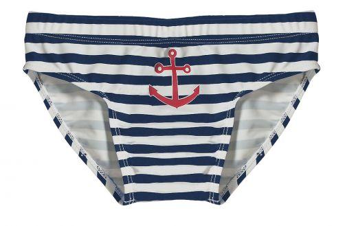 Playshoes---UV-Badehose-für-Kinder---Maritim---Blau/Weiß