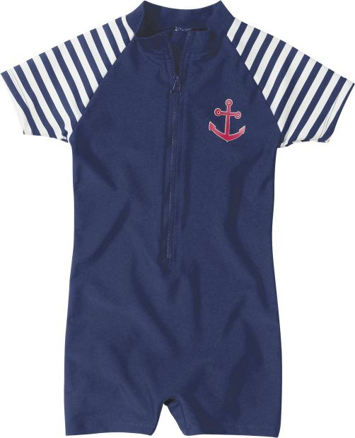 Playshoes---UV-Anzug-für-Kinder---kurzärmlig---Maritim