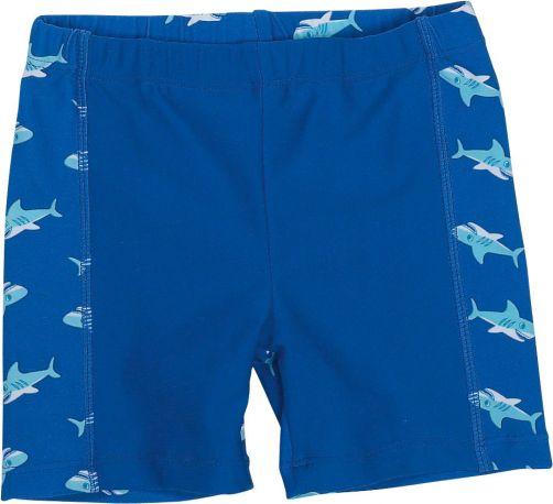 Playshoes---UV-Badeshorts-für-Jungen---Haifisch---Blau