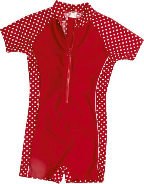 Playshoes---UV-Anzug-für-Kinder---kurzärmlig---Punkte
