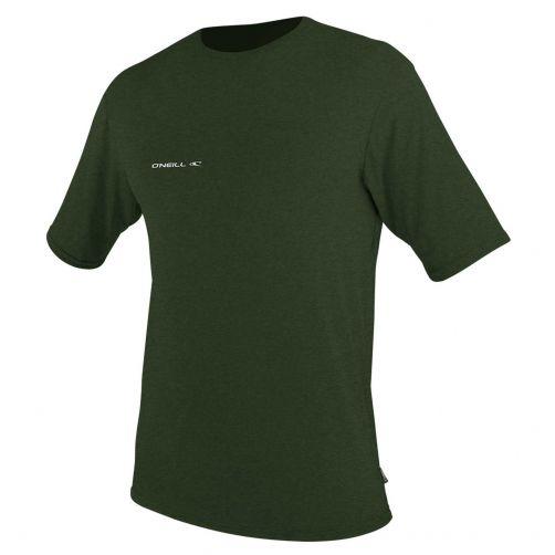 O'Neill---UV-Shirt-für-Herren---kurzärmlig---Hybrid-Sun---Olivgrün