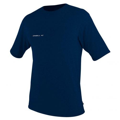 O'Neill---UV-Shirt-für-Herren---kurzärmlig---Hybrid-Sun---Tiefseeblau