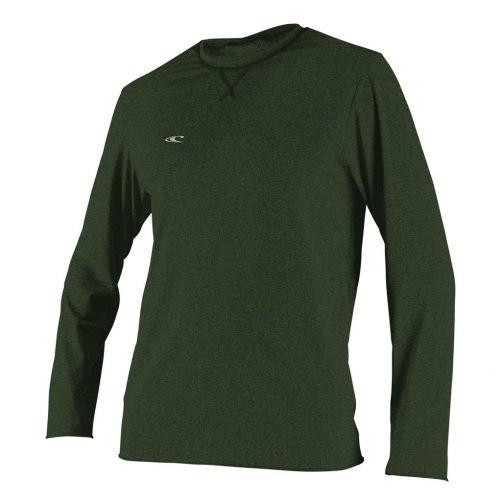 O'Neill---UV-Shirt-für-Herren---langärmlig---Hybrid-Sun---Olivgrün